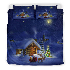 Christmas Night Bedding Set