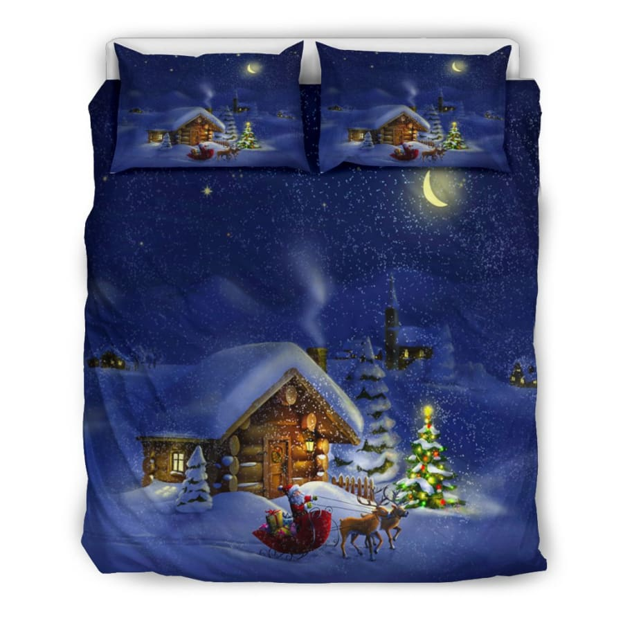 Christmas Night Bedding Set - US Queen/Full