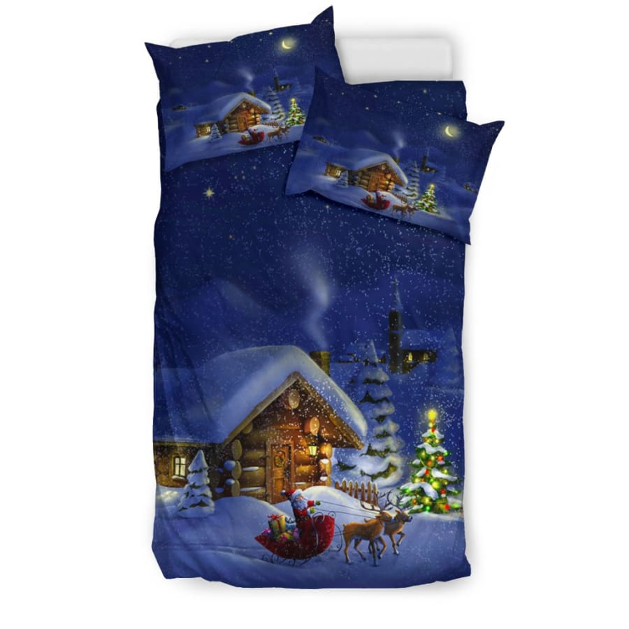 Christmas Night Bedding Set - US Twin