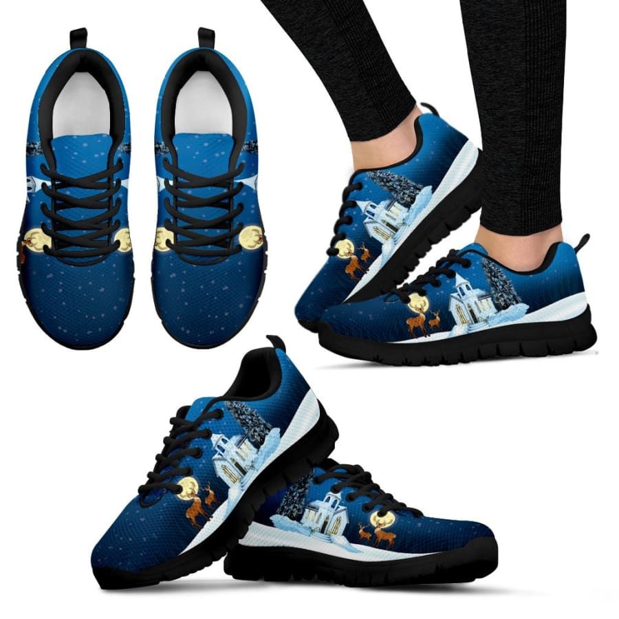 Christmas Night Womens Sneakers|Running Shoes - Sneakers / US5 (EU35)