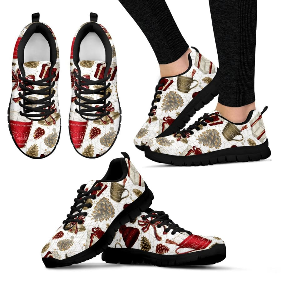 Christmas Sneakers | Running Shoes - Womens / US5 (EU35)
