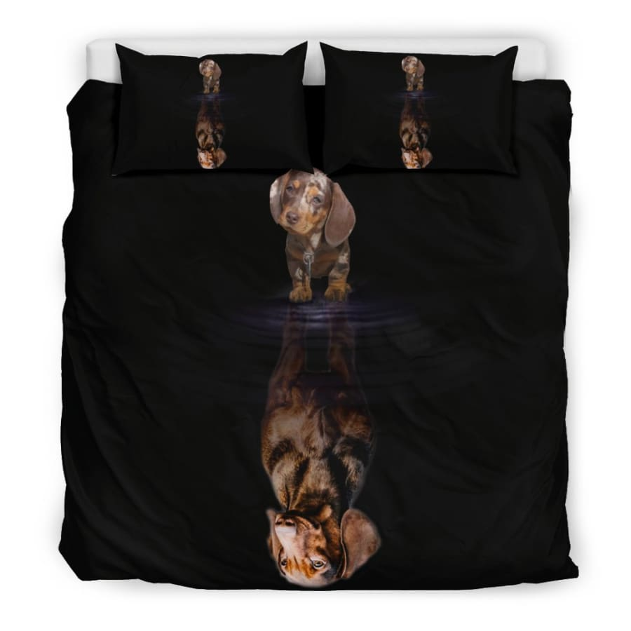 Dachshund Dream Bedding Set| Dog Twin/ Queen/ King Size - Set