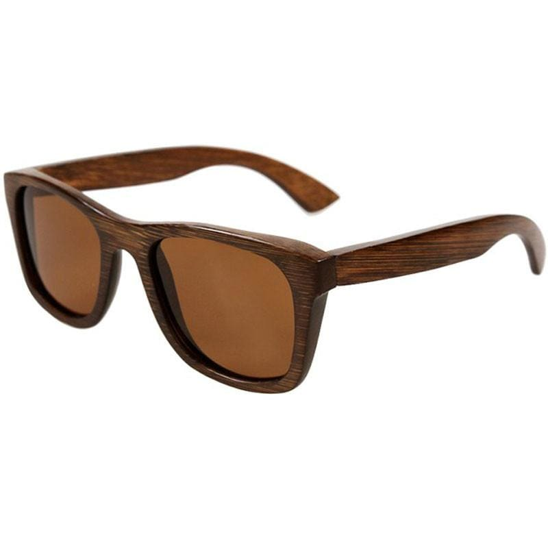 Dark Brown Full Frame Wood Sunglasses Polarized For Men Women(8 colors)