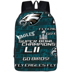3D Eagles Backpack|Eagles Pattern Backpack|Laptop Backpack|College Backpack