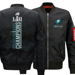 Eagles Bomber Jacket| Varsity Jackets| Military Jacket| Army Jacket (3 Colors)