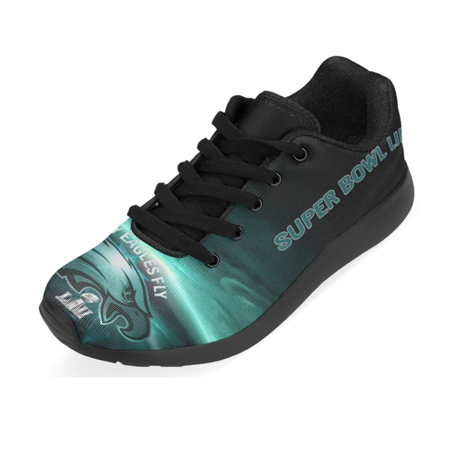 Eagles Sneakers Men Women Kids| Philadelphia Running Shoes Black Midnight Green