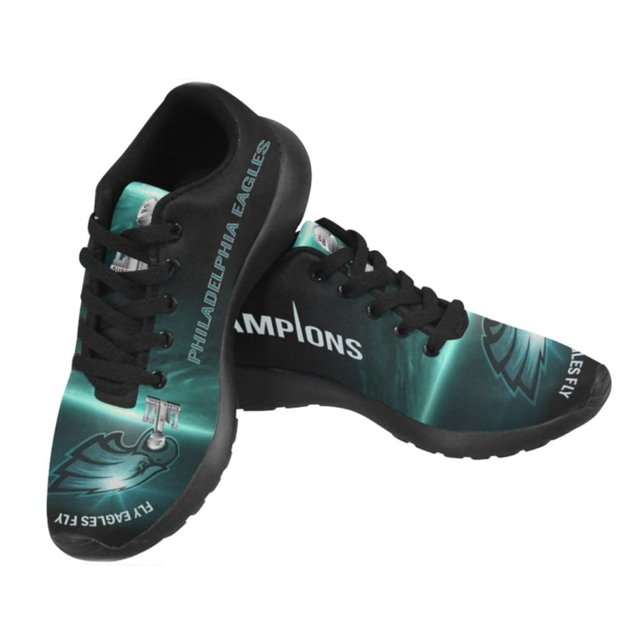 Eagles Sneakers Mens Womens Kids | Philadelphia Eagles Champs Shoes |NFL Sneakers