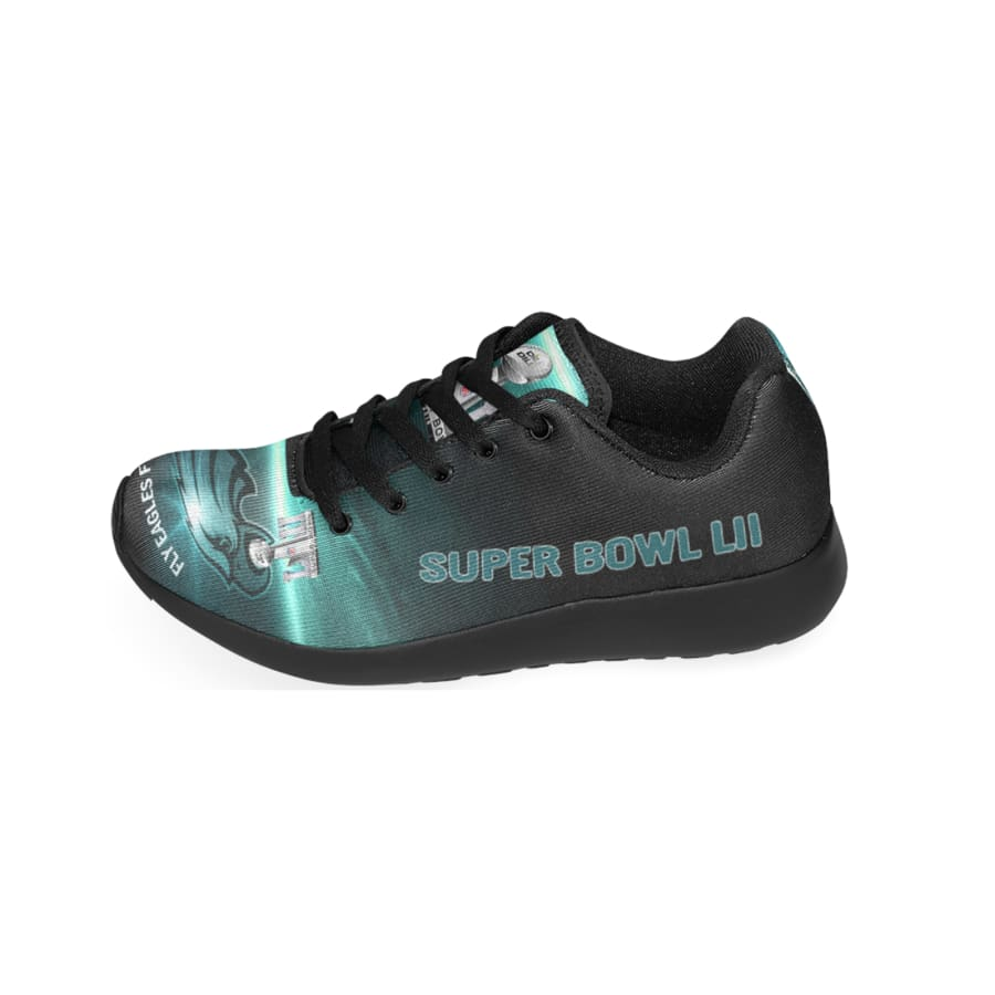 Eagles Sneakers Mens Womens Kids | Philadelphia Eagles Champs Shoes Men's Women's kid's NFL Sneakers