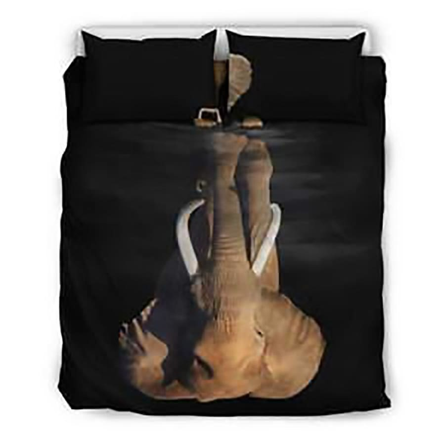 Elephant Dreaming Bedding Set| Twin/ Queen/ King Size - Set / Queen/Full