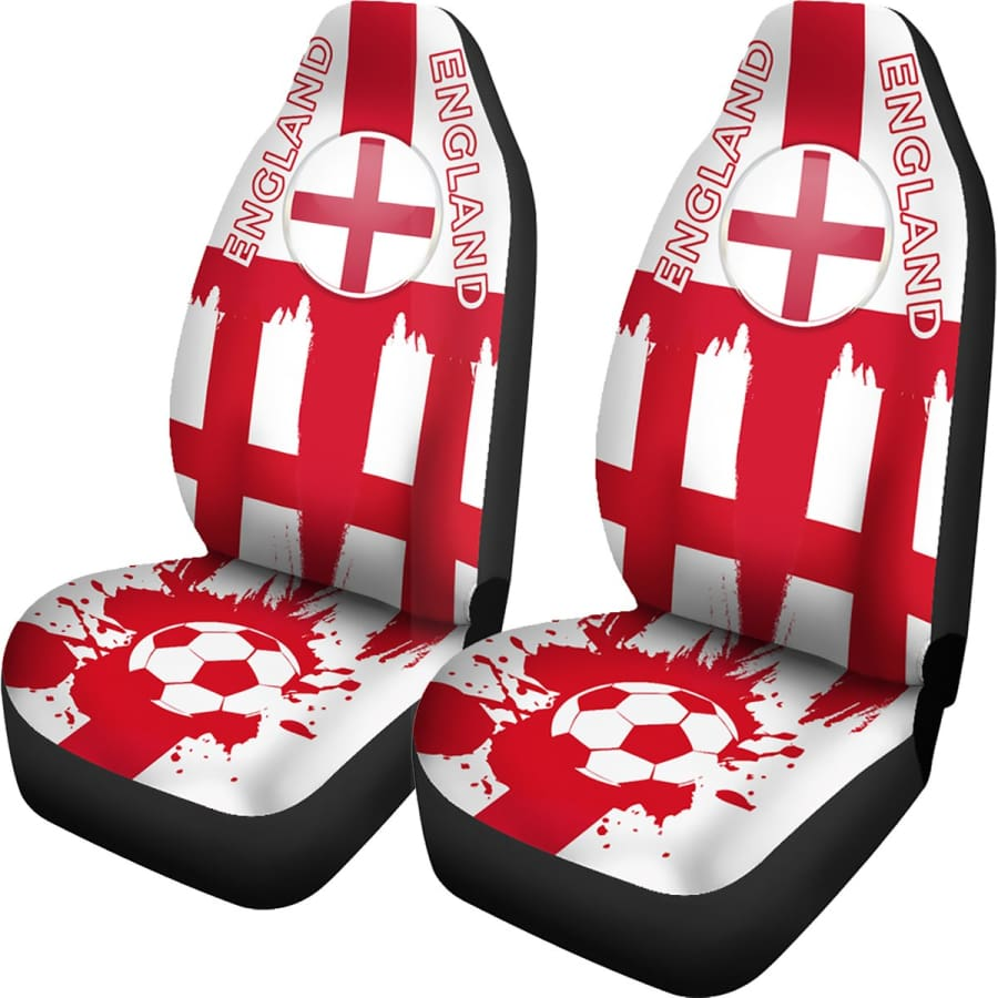 England World Cup Car Seat Covers Set | 2018 FIFA - Universal Fit