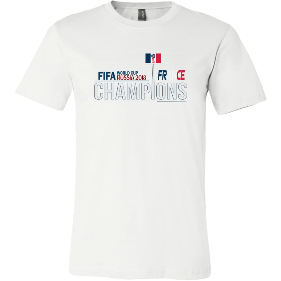 France Shirt World Cup 2018 For Men Soccer Shirts (14 Colors) - Canvas Mens / White / S