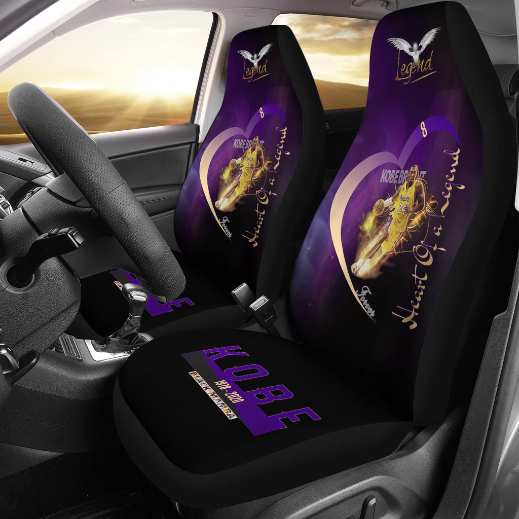 lakers car seat covers