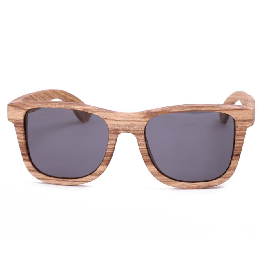 Full Frame Zebra Wood Sunglasses Polarized For Men Women (2 colors)