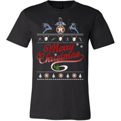 Houston Astros Champions Christmas Shirts (14 Colors)