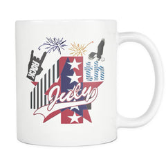 July 4th Rock - Amazing Independent Day Gift Mug (Double Sided)
