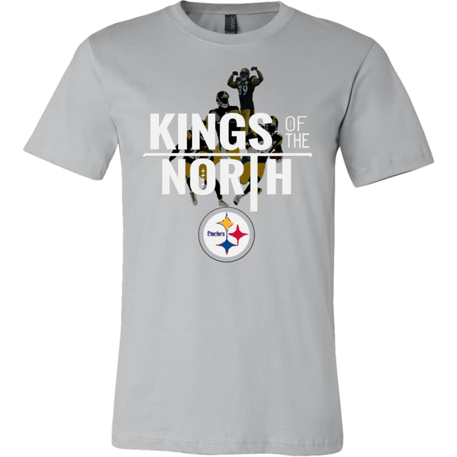 Kings Of The North Pittsburgh Steelers Shirt (14 Colors) - Canvas Mens / Silver / S