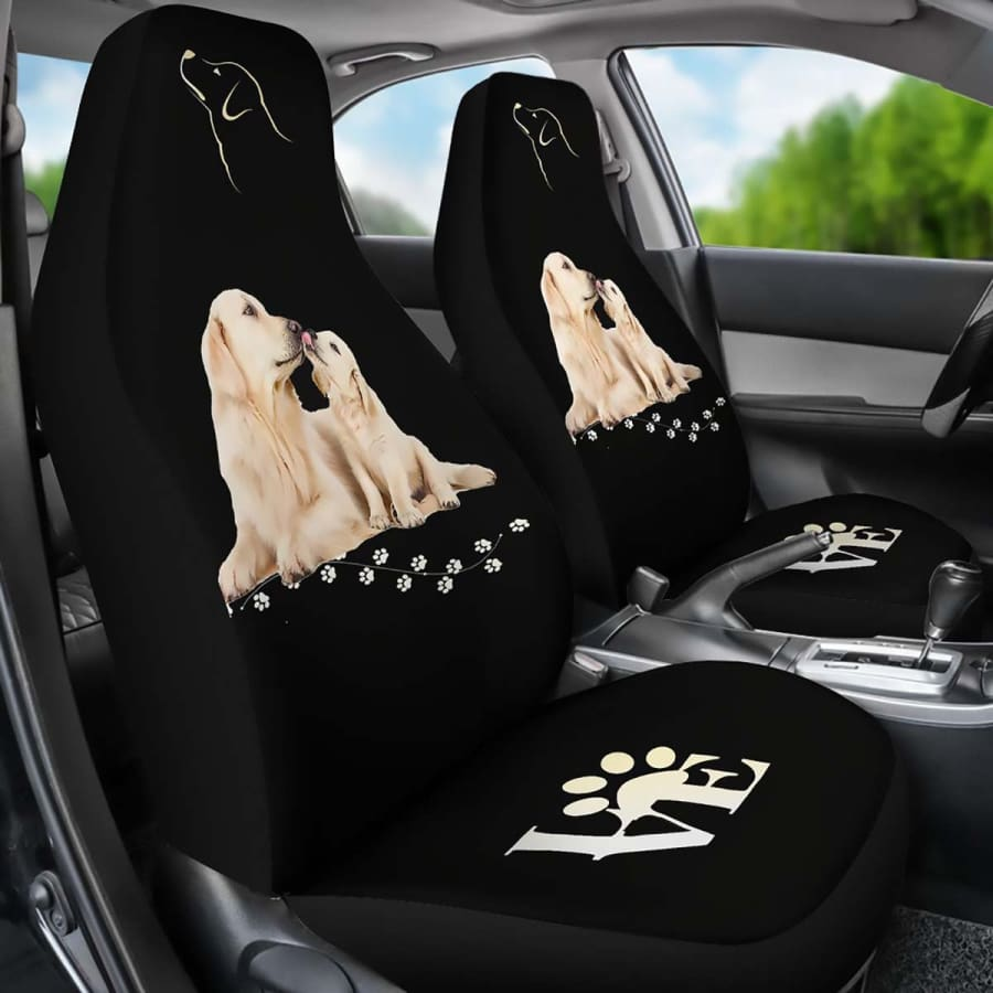 Love Dog Car Seat Covers | Cover For Black