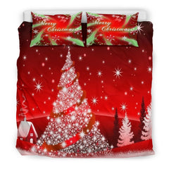 Merry Christmas - Christmas Tree Bedding Set