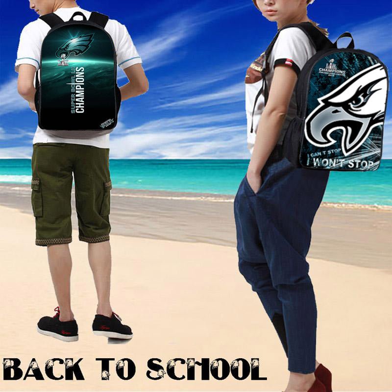 Philadelphia Eagles Backpack|Backpacks for School|Laptop Backpack|Backpacks For Women