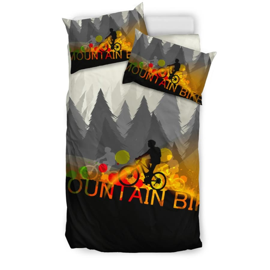 Mountain Bike Bedding Set | Lover Twin/ Queen/ King Size - US Twin