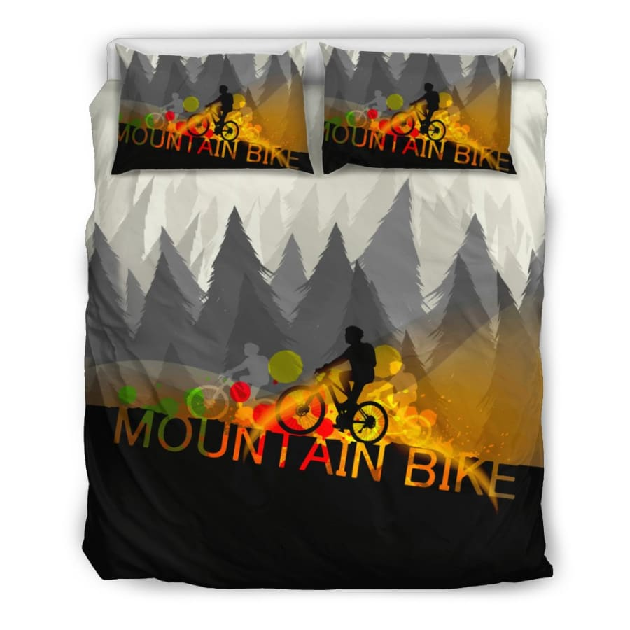 Mountain Bike Bedding Set | Lover Twin/ Queen/ King Size - US Queen/Full