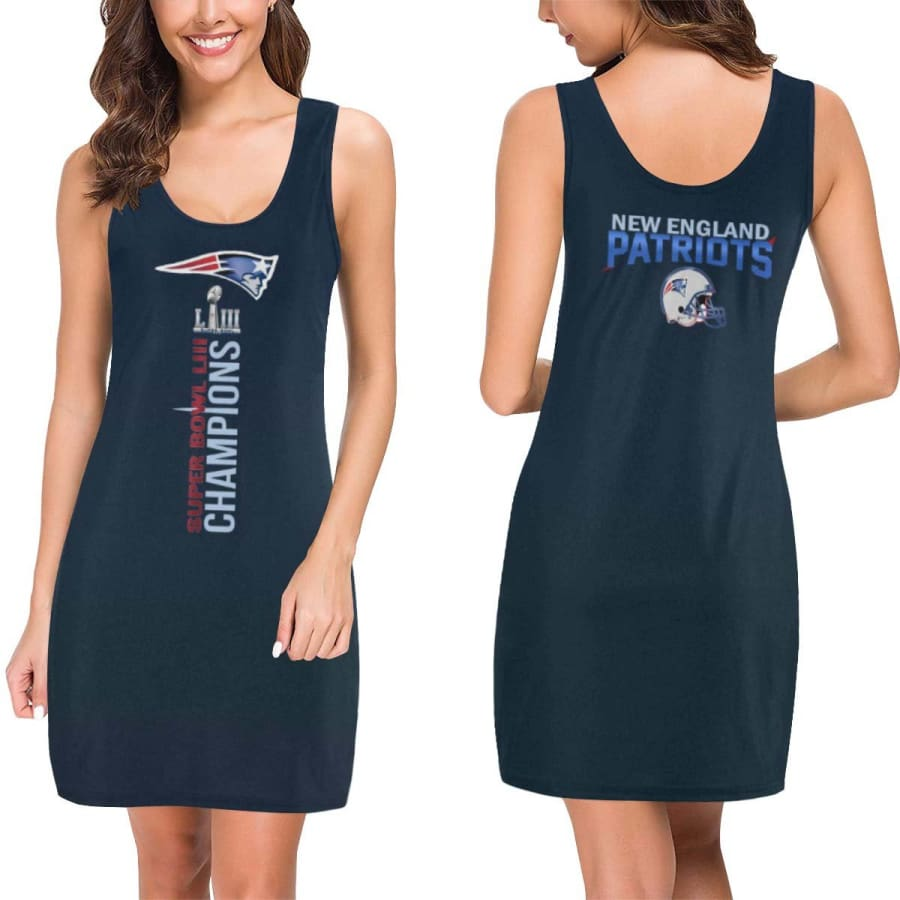 New England Patriots Dress| Super Bowl LIII Champions Dresses - XS
