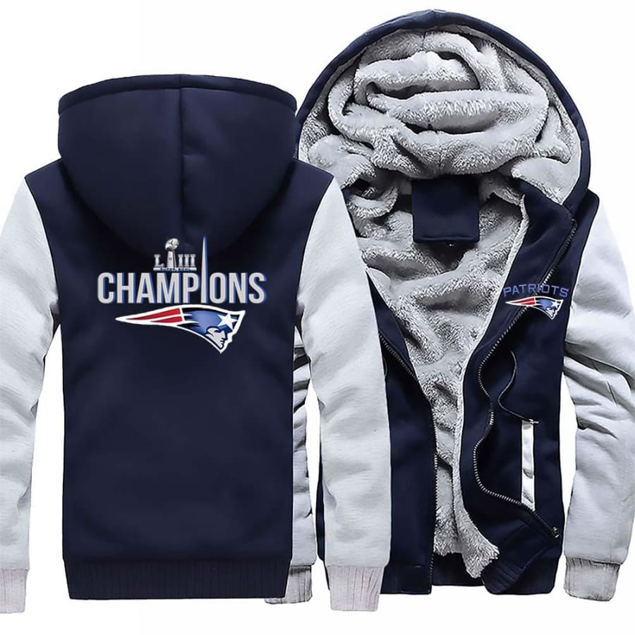 New England Patriots Jacket|Super Bowl LIII Varsity Jackets (4 Colors)