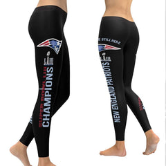 New England Patriots Leggings | Super Bowl LIII Champs Leggings