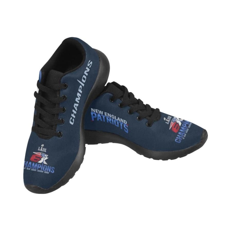 New England Patriots Sneakers|Patriots 6x Super Bowl Shoes|Champs Shoes