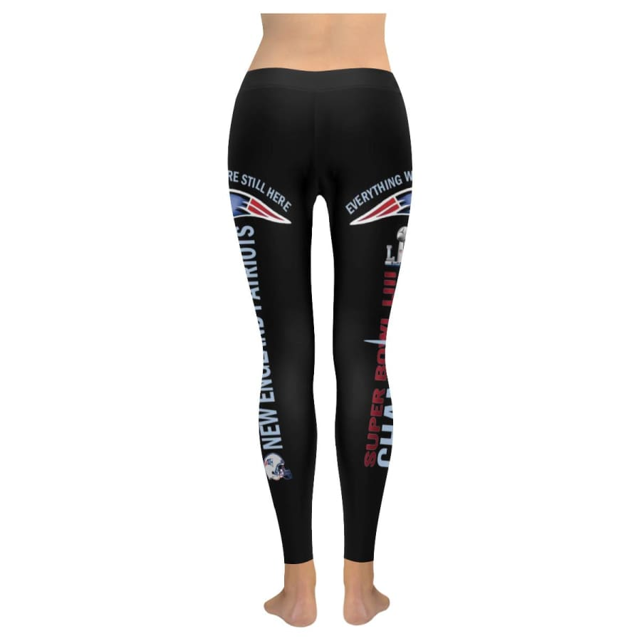 New England Patriots Super Bowl LIII Champs Leggings