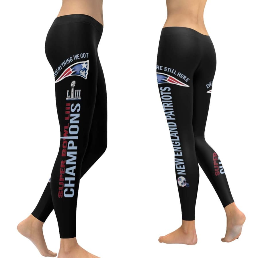 New England Patriots Super Bowl LIII Champs Leggings - XXS