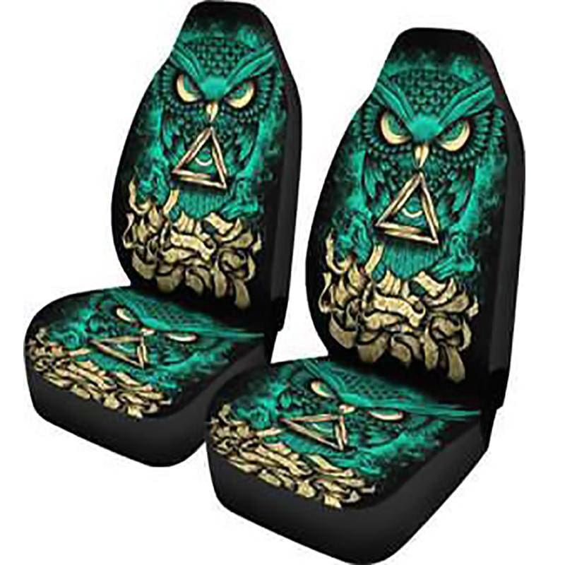 Owl Car Seat Covers 2pcs | Pet - seat covers