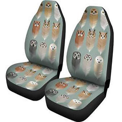 Owl SPIRIT Car Seat Covers 2pcs | Pet Seat Covers