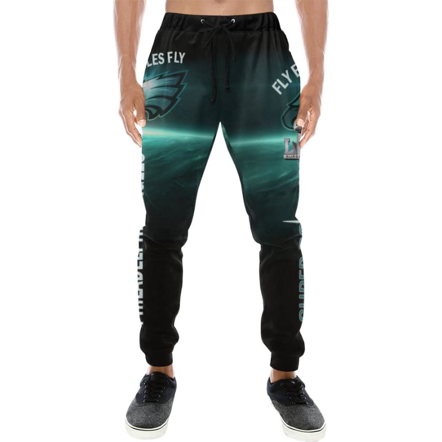 Philadelphia Eagles Casual Sweatpants Men Women|Super Bowl Baggy Slacks
