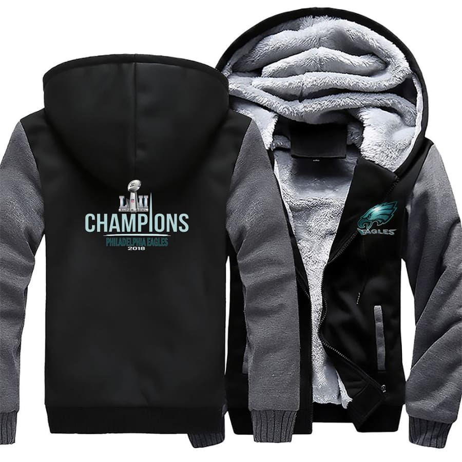 Philadelphia Eagles Jacket|Super Bowl Varsity Jackets| Pullover Hoodie (4 Colors)