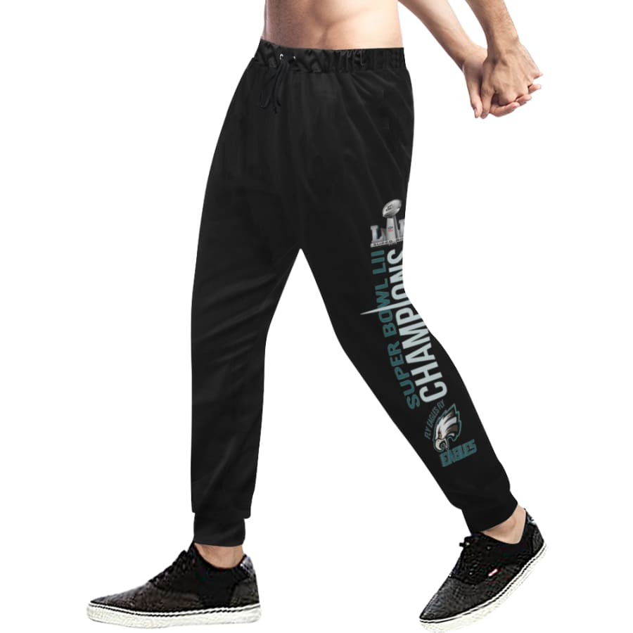 Philadelphia Eagles Mens Womens Casual Sweatpants|Eagles Baggy Slacks