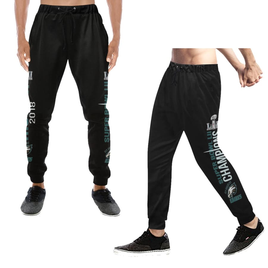 Philadelphia Eagles Mens Womens Casual Sweatpants|Eagles Baggy Slacks - XS