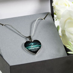 Philadelphia Eagles Necklace Handcrafted Can Be Engraved Any TEXT (Stainless)