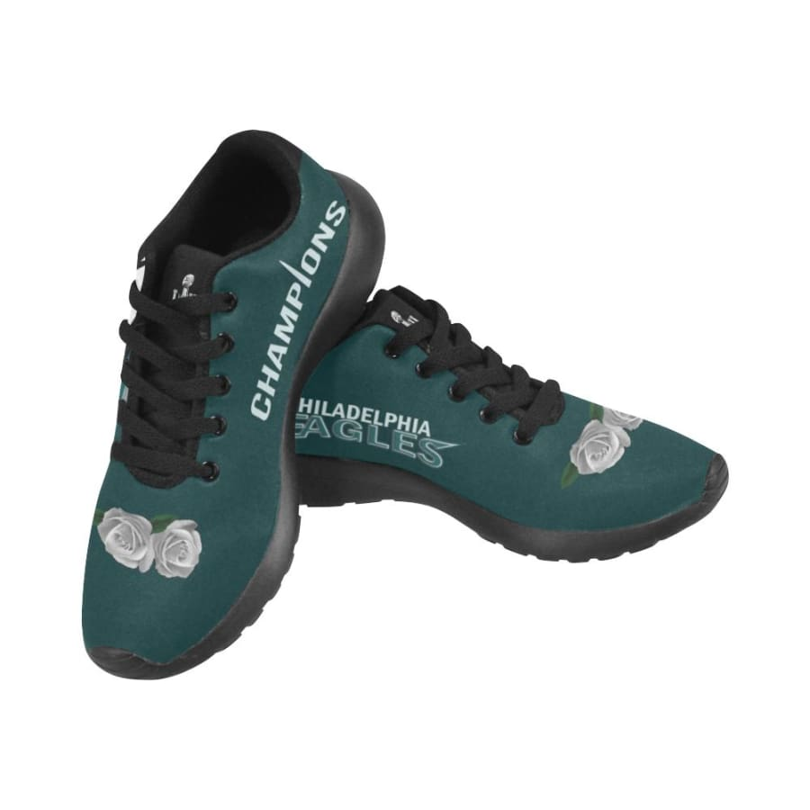 Philadelphia Eagles Shoes Mens Womens Kids| White Rose Sneakers