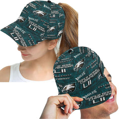 Philadelphia Eagles Super Bowl Champs Cap Men Women |Snapback Adjustable Hat