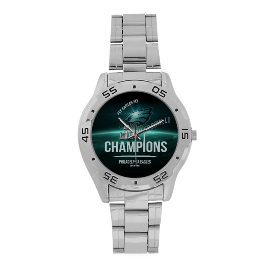 Philadelphia Eagles Watch Midnight Green Black| Super Bowl Wrist - One Size