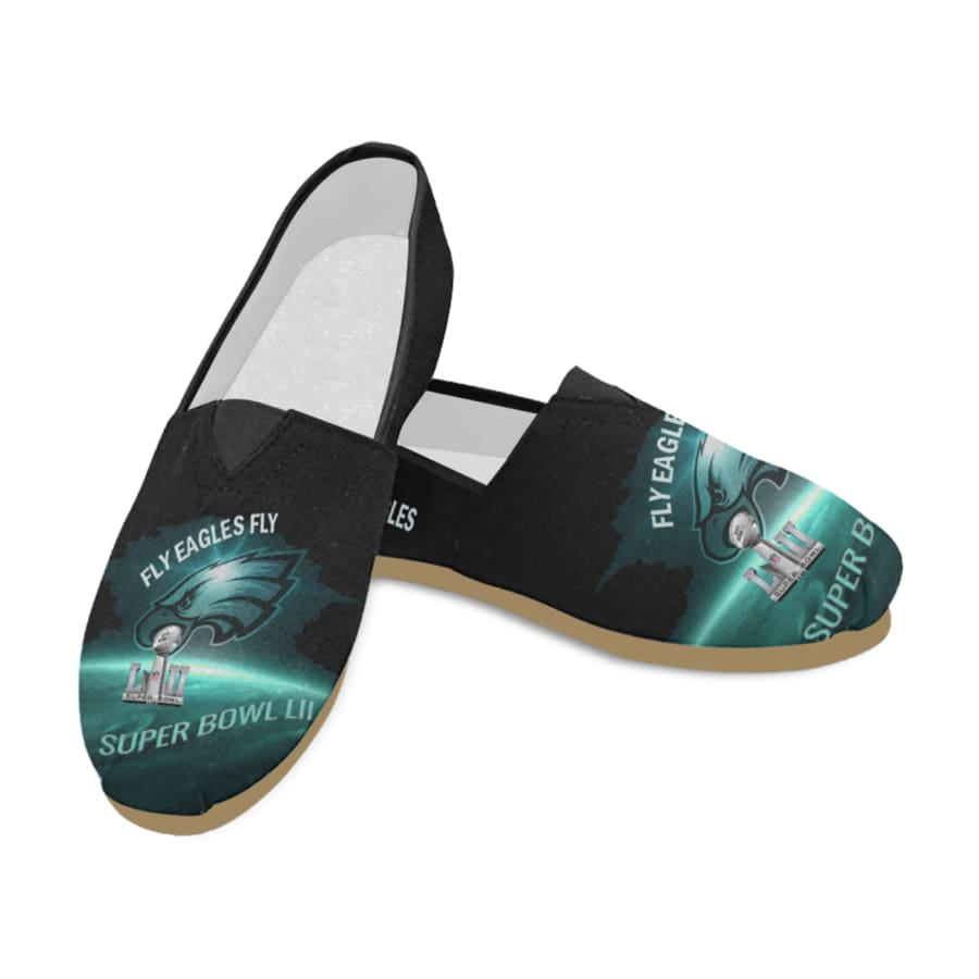 Philadelphia Eagles Women Slip On Shoes|Super Bowl Champs Shoes