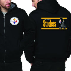 Pittsburgh Steelers Jacket|Steelers Varsity Jackets|Pullover (4 Colors)