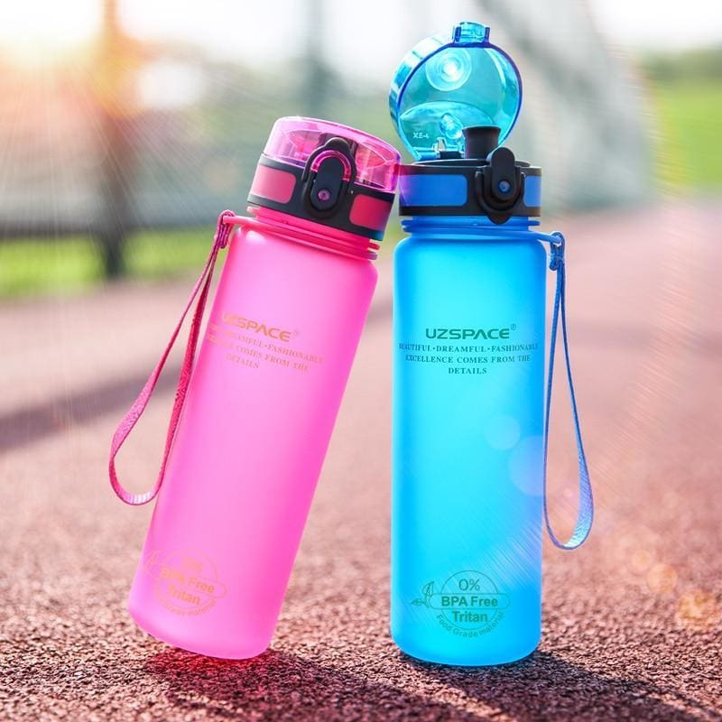 Protein Shakes Sports Water Bottle