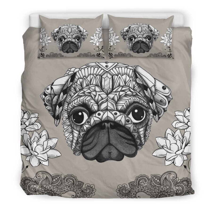 Pug Bedding Set - King