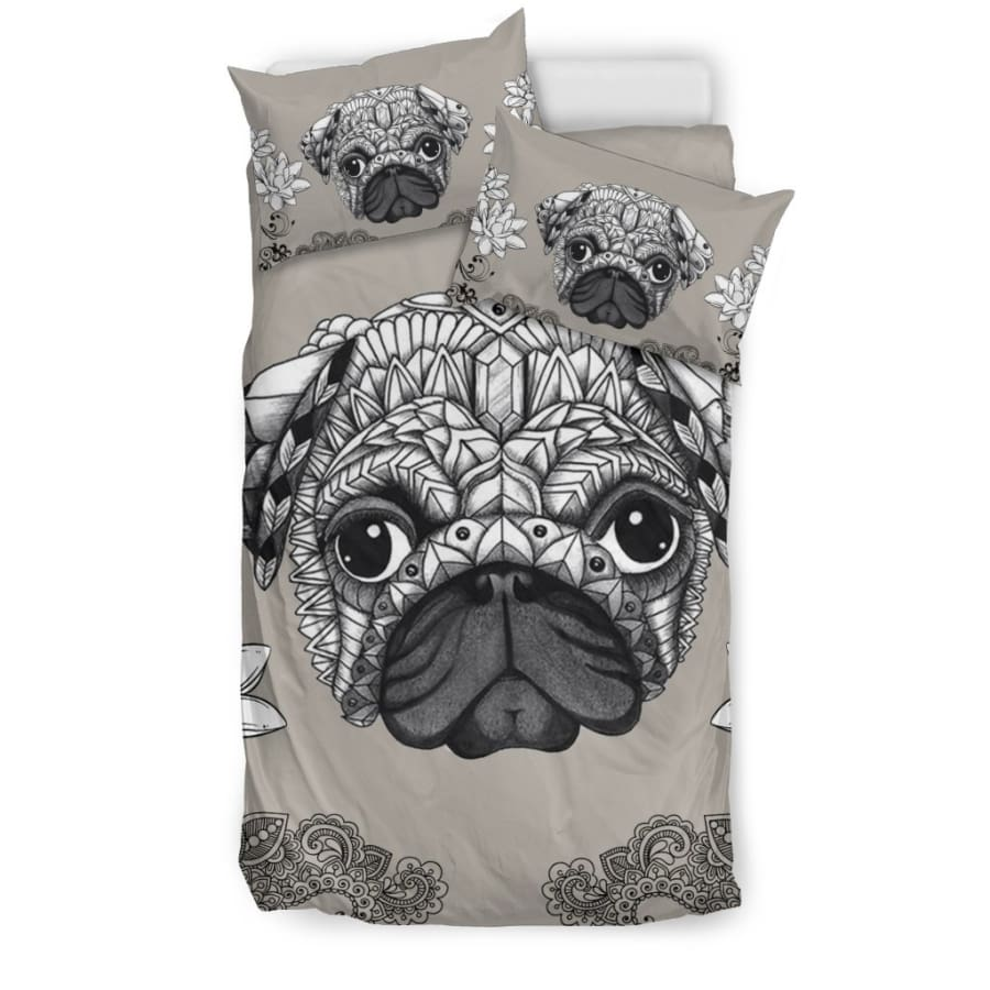 Pug Bedding Set - Twin