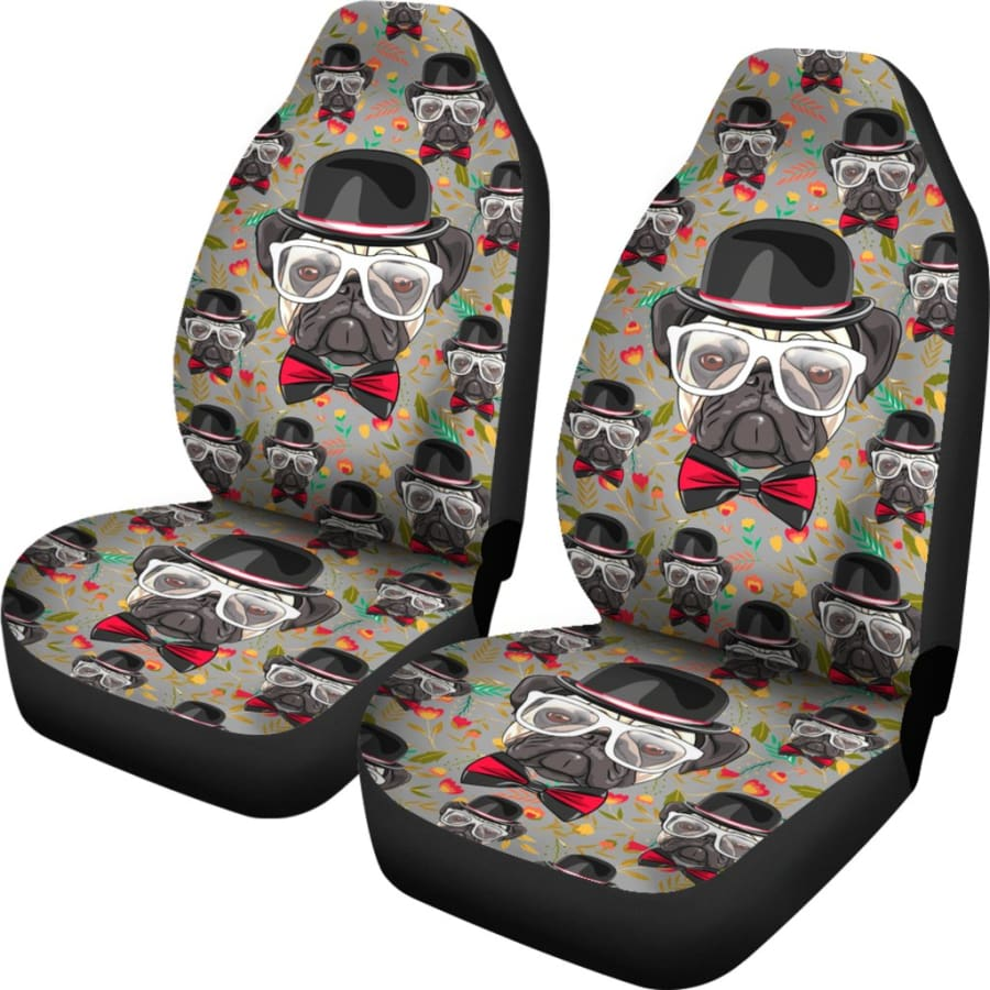 Pug Car Seat Covers 2pcs - PUG