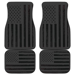 USA Flag Front/Back Car Mats