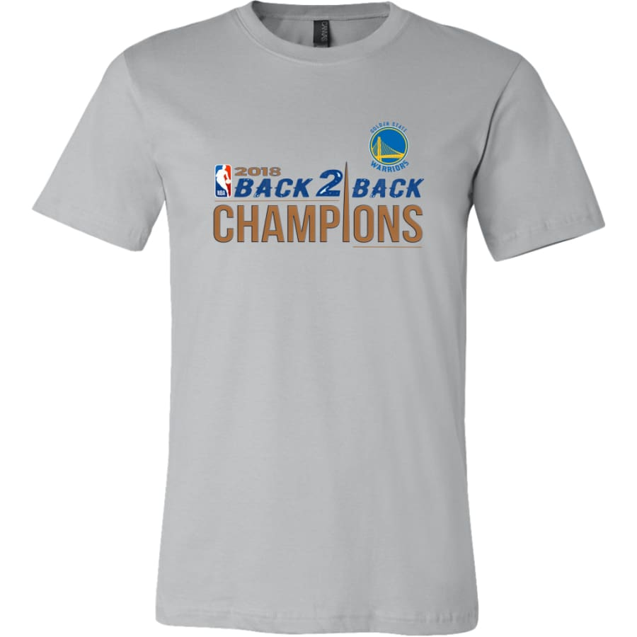 Warriors Shirt For Men| Golden State Champion T shirt (14 Colors) - Canvas Mens / Silver / S