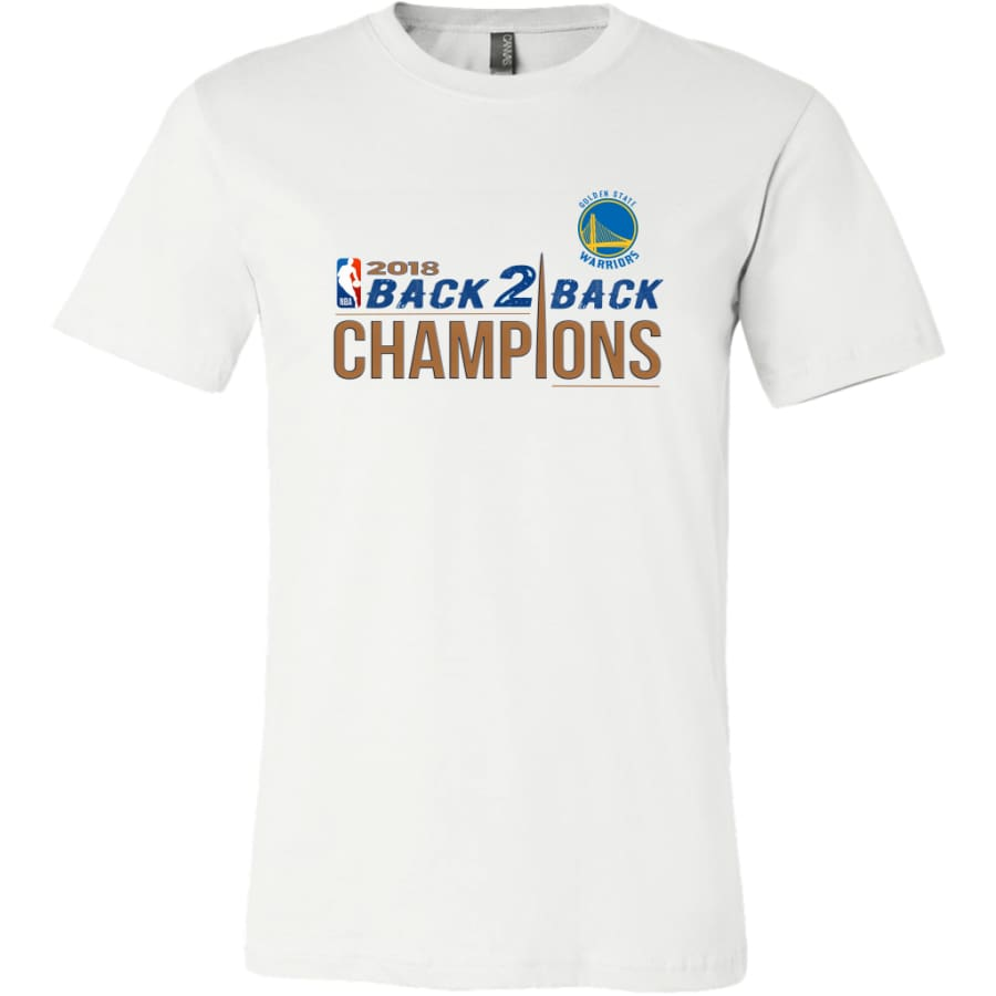 Warriors Shirt For Men| Golden State Champion T shirt (14 Colors) - Canvas Mens / White / S